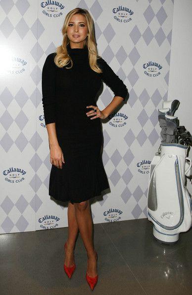 Ivanka Trump - Ivanka Trump Hosts Callaway Golf Girls Club