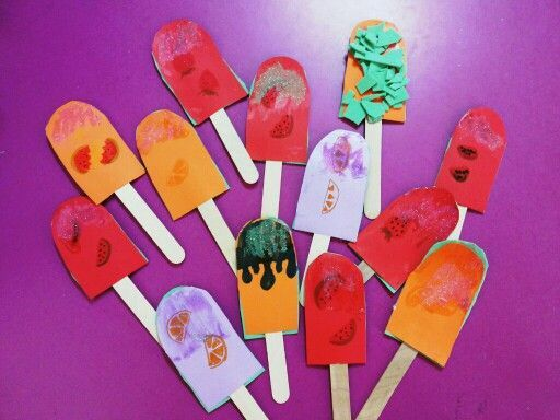 Ice Cream Arts And Crafts For Kids