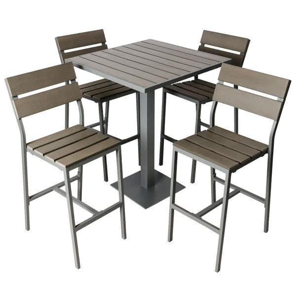Bfm Seating Yh Sg30st Margate 30 Square Bar Height Outdoor Table