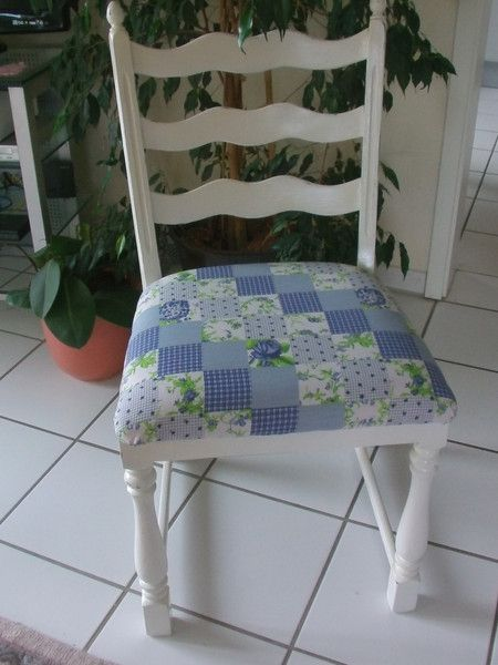 """Vintage Stühle - shabby """"schöner alter Stuhl aus den 60er Jahren"""" - ein Designerstück von Manus-kleine-Vintage-Schatzkiste bei DaWanda"""