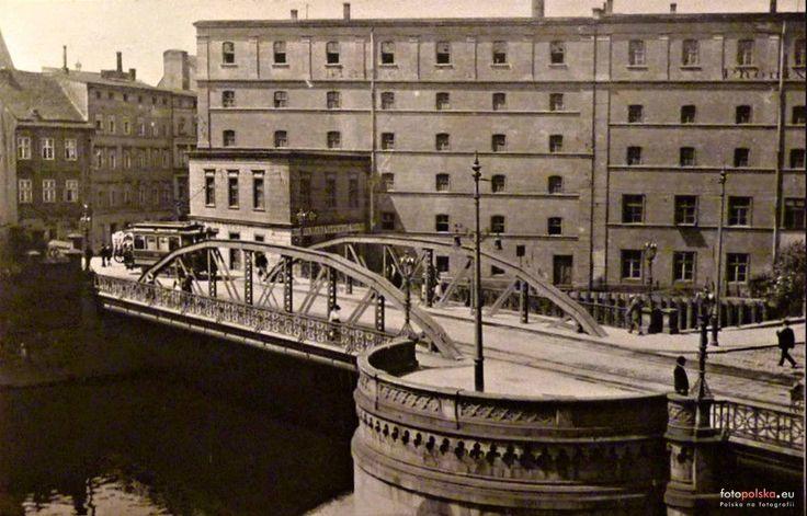 Wrocław - Mosty Młyńskie (1914)