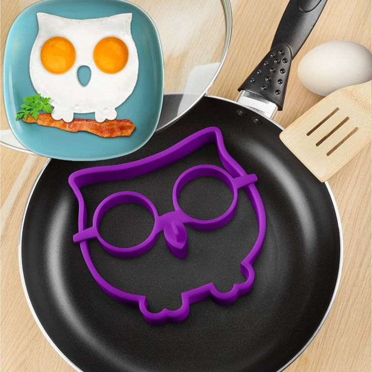 5pcs Hot Creative Environmental Food grade silicone kitchen omelette device kitchen cooking tool egg Mold tool, Owl / skull Y003 on Aliexpress.com | Alibaba Group
