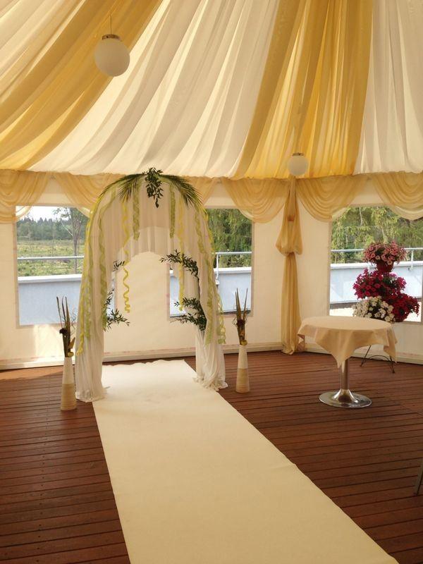 Арка для выездной регистрации, свадьба в стиле Король лев