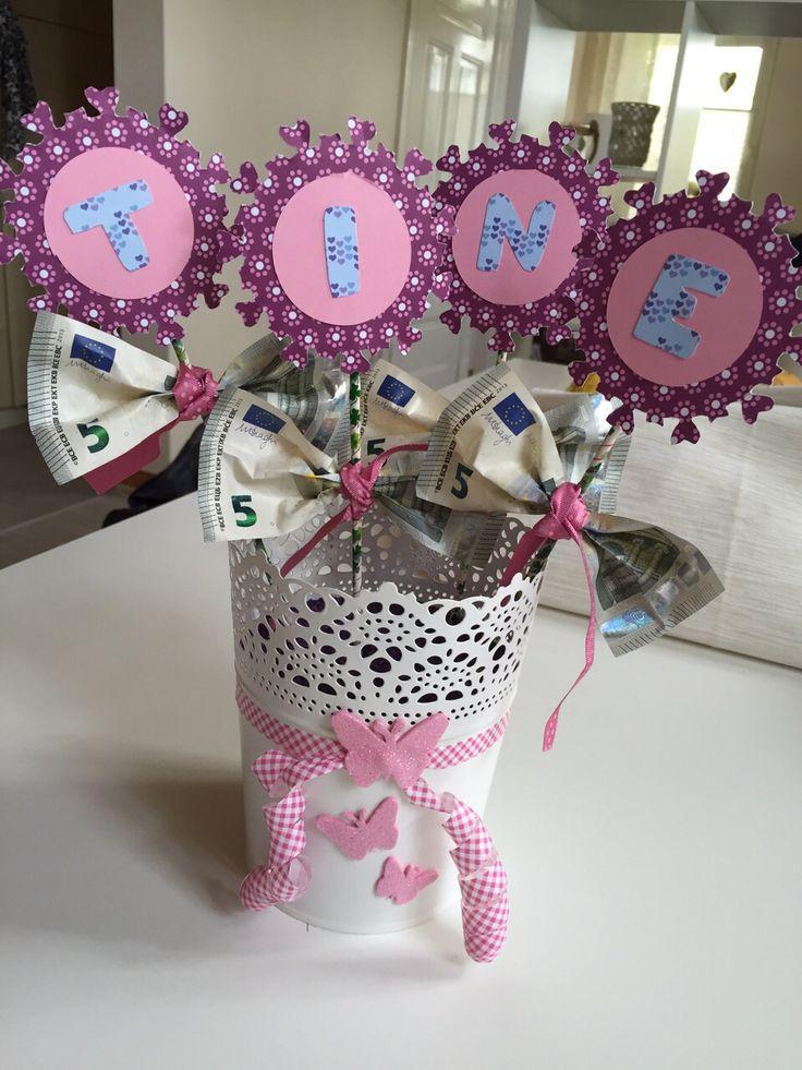 Geldgeschenk zum 30. Geburtstag #geburtstagsgeschenk #birthdaypresent