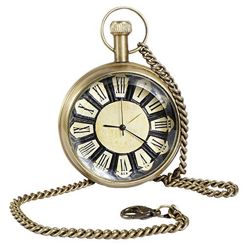 Roman Brass Metal Mechanical Pocket Watch Open Face Design for Men Women Vintage - 4.6 CM RoyaltyLane http://www.amazon.co.uk/dp/B01C6XPFJE/ref=cm_sw_r_pi_dp_9cO3wb0KHNVJM
