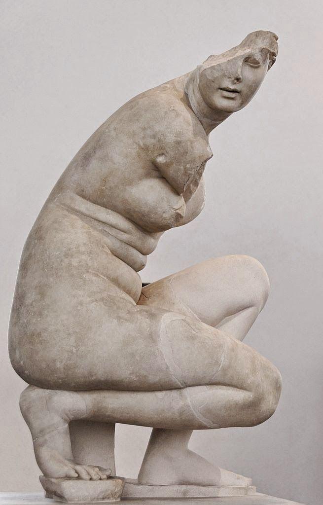 Afrodite Accovacciata   Doidalsas