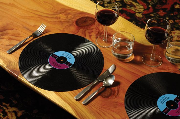 Silicone Record Placemats