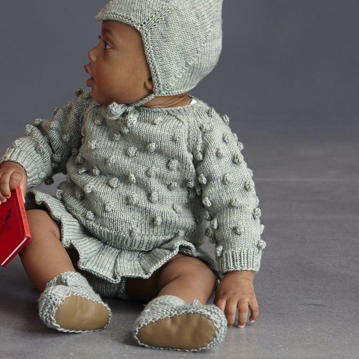 Popcorn Sweater - misha and puff