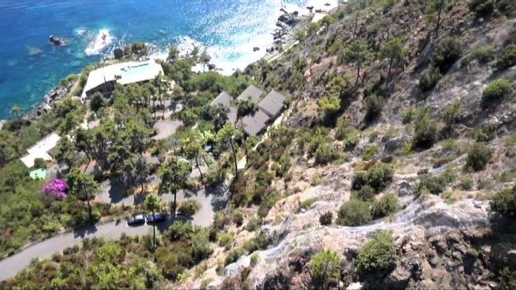 Il Resort La Francesca visto dal cielo: le Case