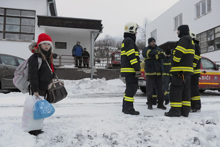 Christmas Time - Firefighters, there to help