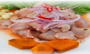 Cómo preparar ceviche peruano de pescado (lenguado, corvina u otro)