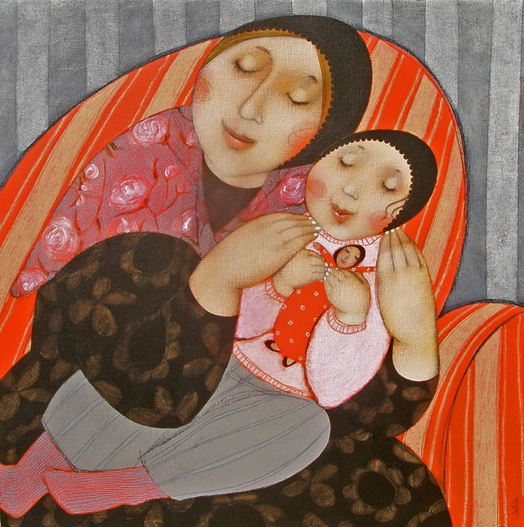 by Cecile Veilhan  Les poupées russes, pensei na amiga @Vanessa Aguiar