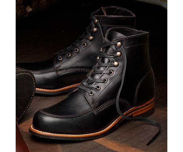 Men - Courtland 1000 Mile Boot - Black | Wolverine