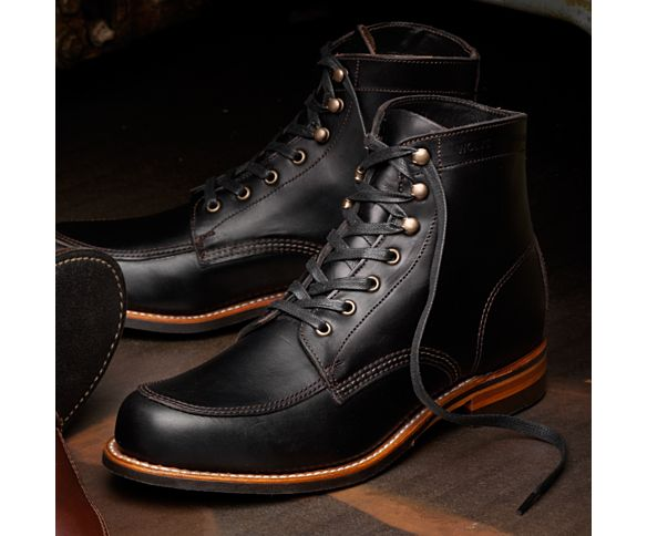 Men - Courtland 1000 Mile Boot - Black   Wolverine