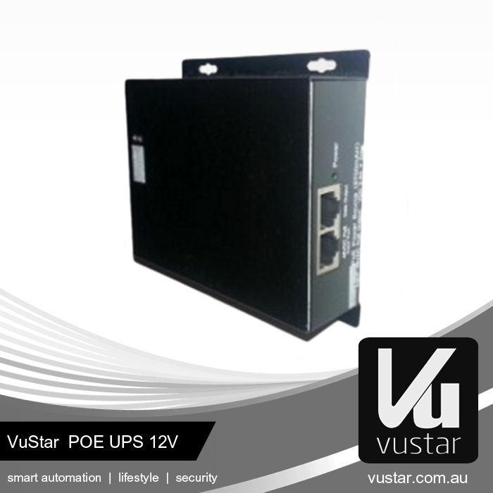 Vustar PoE UPS 12v - Keep you cameras operating during power outage or failure of your PoE switch - Charges from 802.3af PoE - Patented technology exclusive to VuStar - 10/100M Ethernet - Suitable for 12vDC (12w) models such as cameras and wireless APs  Visit our online shop at http://eshop.vustar.cn/ to view our products. For more information, visit our website at http://www.vustar.cn. #technology #poeups #homenetwork