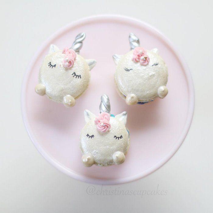 Estos macarrones de unicornio son el dulce más mágico que hay