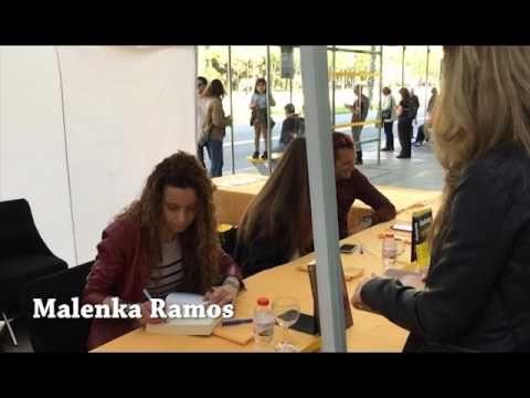 Firma de Sant Jordi 2016 de autora de Titania - YouTube