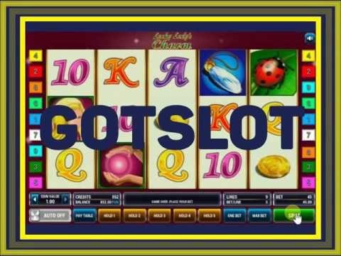 Видео обзор игрового автомата Lucky ladys charm Шары
