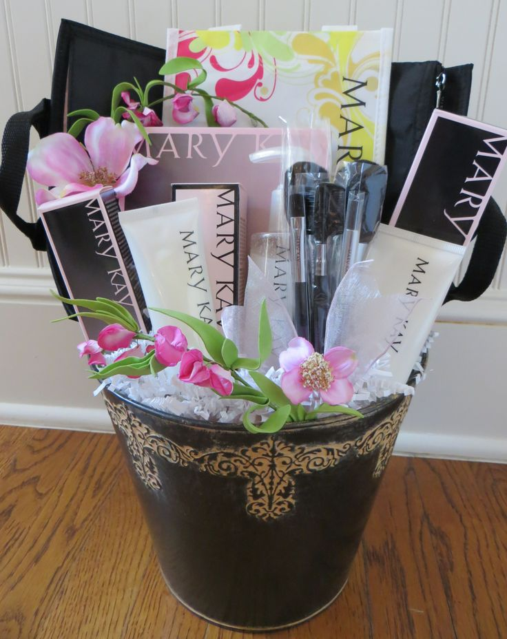 32 best custom charity gift baskets images on pinterest gift celebrating mary kay holiday gift basketschristmas negle