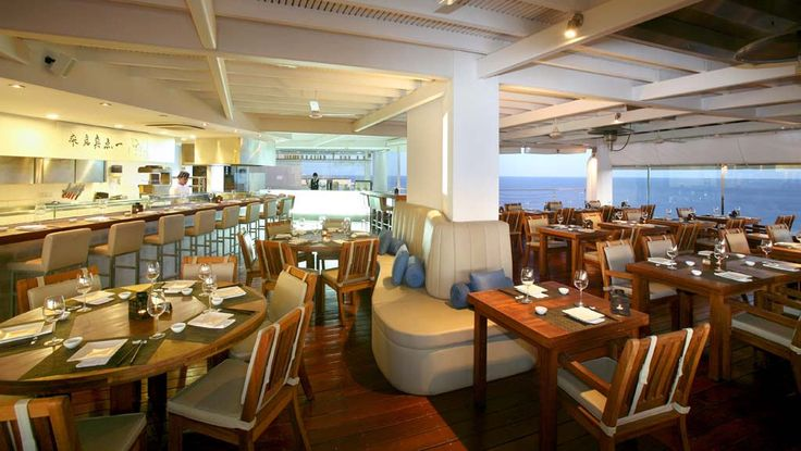 Umi Japanese & Sushi Restaurant of Grecian Park Hotel Cyprus offers stunning Mediterranean Sea views and exceptional service for unique gastronomic journeys! http://bit.ly/1IKHt2W