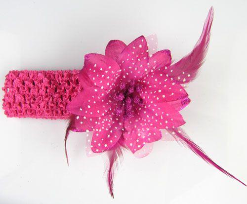 dribbleanddrool - Dark Pink Flower