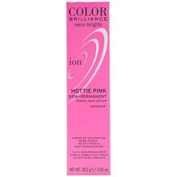 ION Color Brillance Brights Semi Permanent Hair Color 'HOTTIE PINK' 2.05 oz >>> Check this awesome product by going to the link at the image. (This is an affiliate link and I receive a commission for the sales)