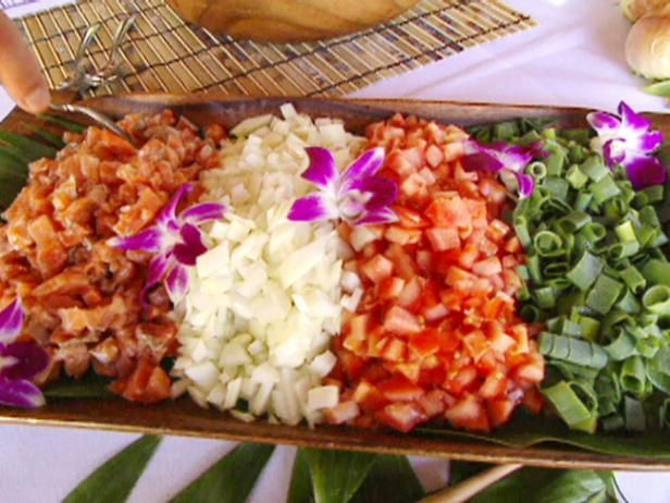 Get Lomi Lomi Salmon Recipe from Food Network