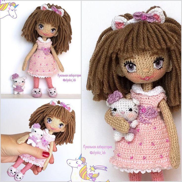 Knit Amigurumi Doll Pattern : Best crochet amigurumi dolls images on pinterest