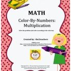 In Color-By-Numbers Multiplication by the2teachers you will receive 20 pages of practice in multiplication computation review.  Students color the ...