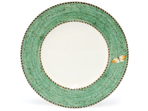Wedgwood - Sarah's Garden Bread & Butter Plate Green | Peter's of Kensington