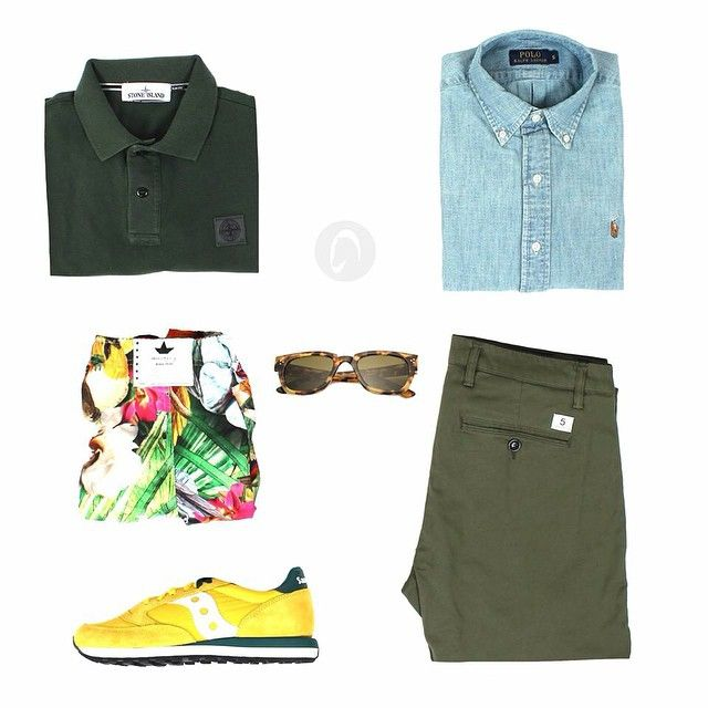 For Man. Camicia @ralphlauren Polo @stoneisland_official Pantalone @department5 Costume @macchiaj