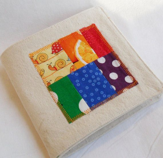 could have the child help you pick from fabrics and make this book of patterns