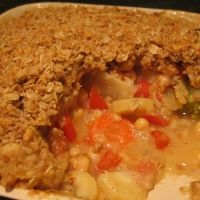 Winter Vegetable Crumble Recipe