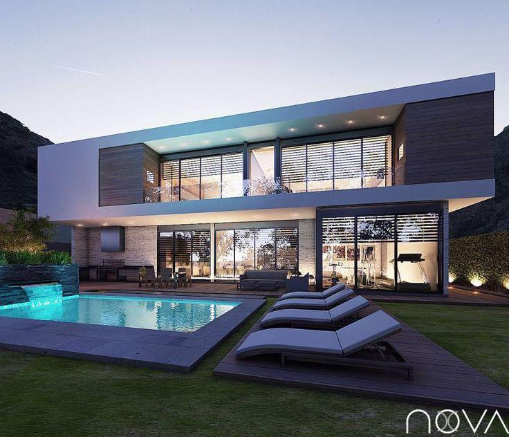 Casas de estilo por homify en 2019 casas modernas for Casa moderno kl