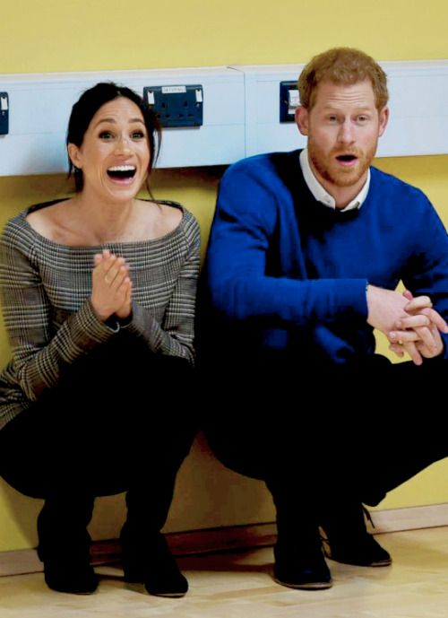 Prince Harry &his wife to be Meghan Markle .