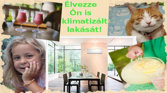 Segítünk Önnek, hogy felüdülhessen klimatizált lakásában, irodájában. http://www.klima-budapest.eu