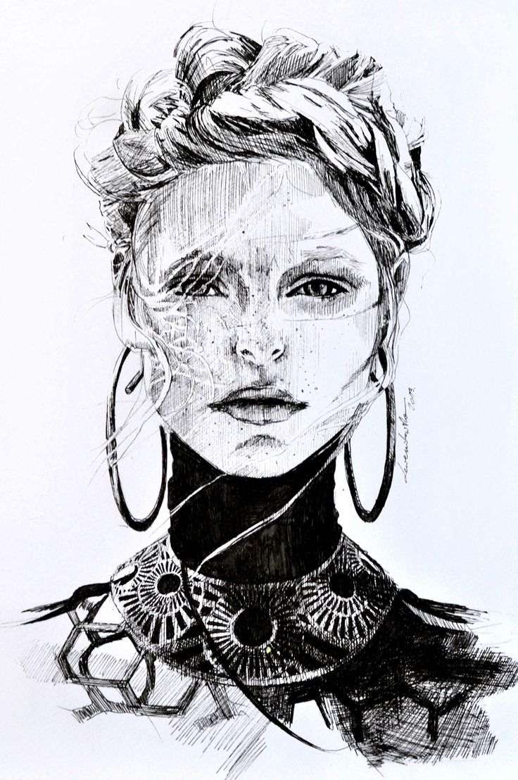 Face from the magazine