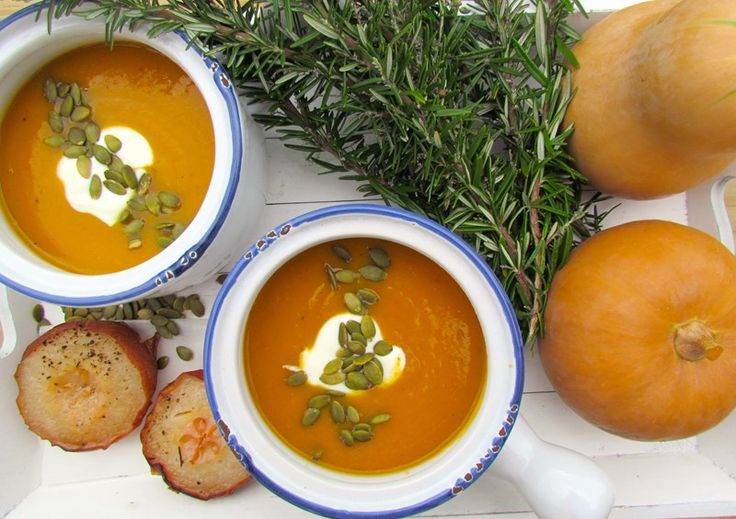 Roasted Nashi Pear & Butternut Squash Soup