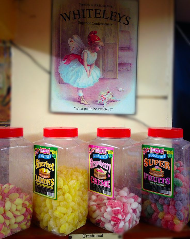 Traditional British Sweets from Toffee Nose