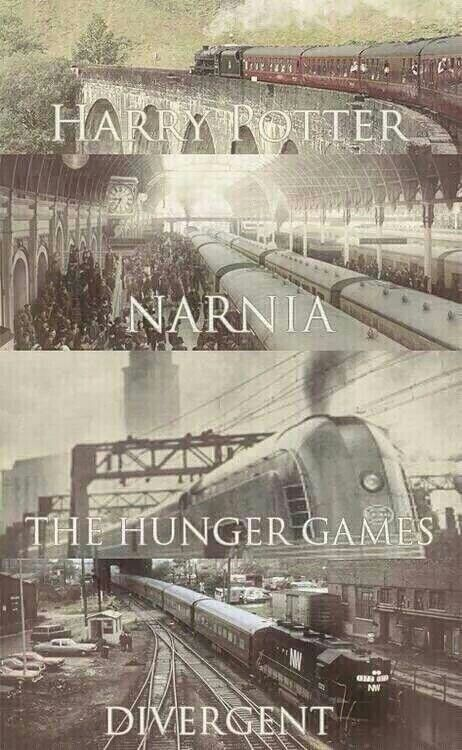 Harry Potter  Narnia  THG Divergent