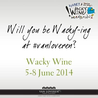 Hope to see you all at #WackyWine this year! #Ways2Wacky