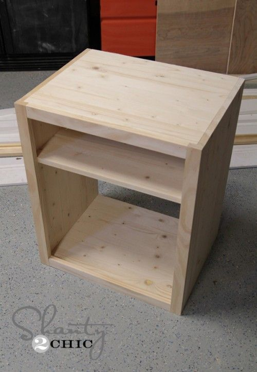 DIY Nightstand...I will be making these and by I, I mean my husband.