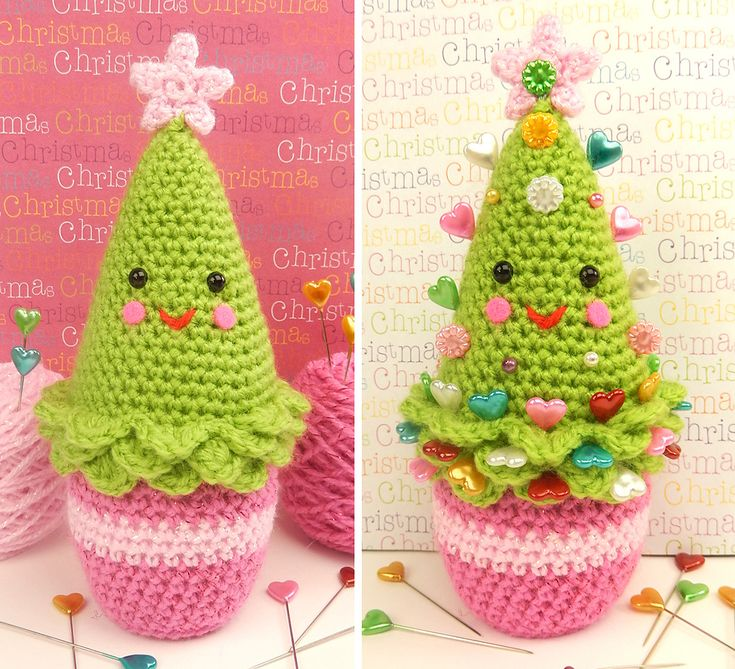 Penny The Pine Tree By Moji-Moji Design - Free Crochet Pattern - (ravelry)