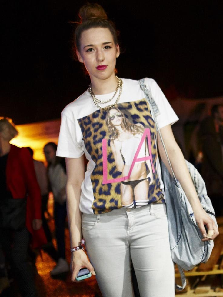 Street fashion: moda festiwalowa z FreeFormFestival 2013, dzień 1, fot. Hadrian Kubasiewicz