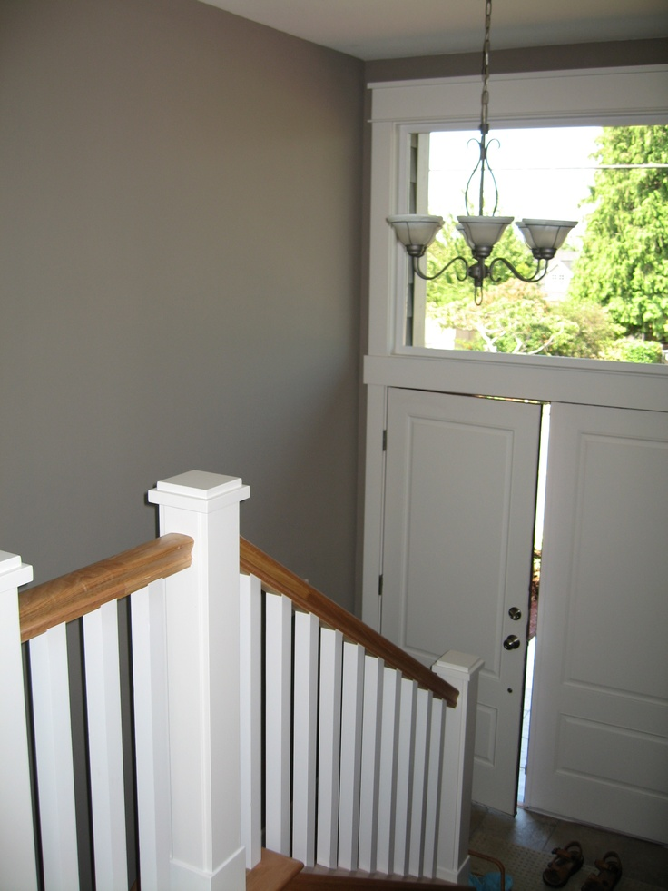 Benjamin Moore Ashley Gray  Most of our house is this colour :)  LOVE IT!