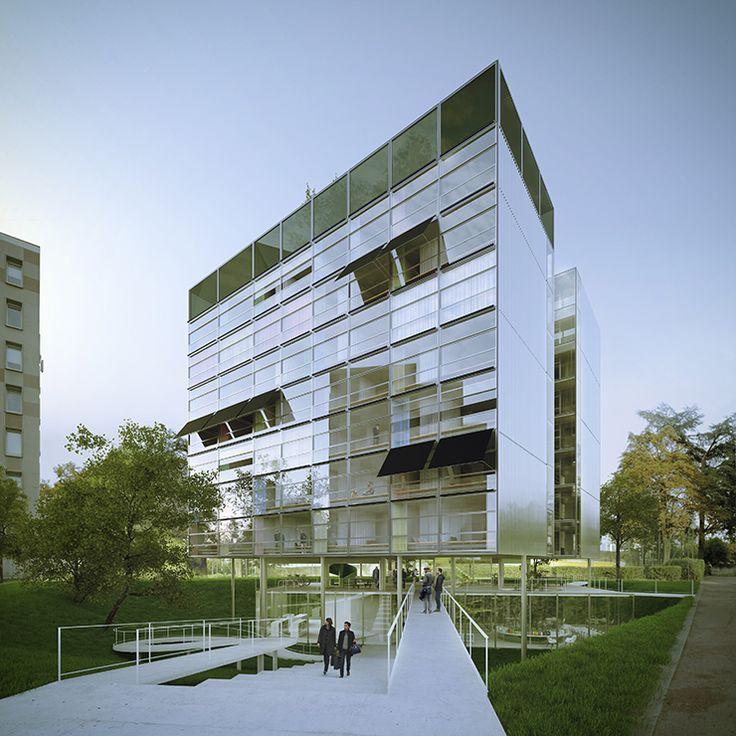 Les 30 meilleures images du tableau architecture 3d sur for Agence urbanisme paysage nantes
