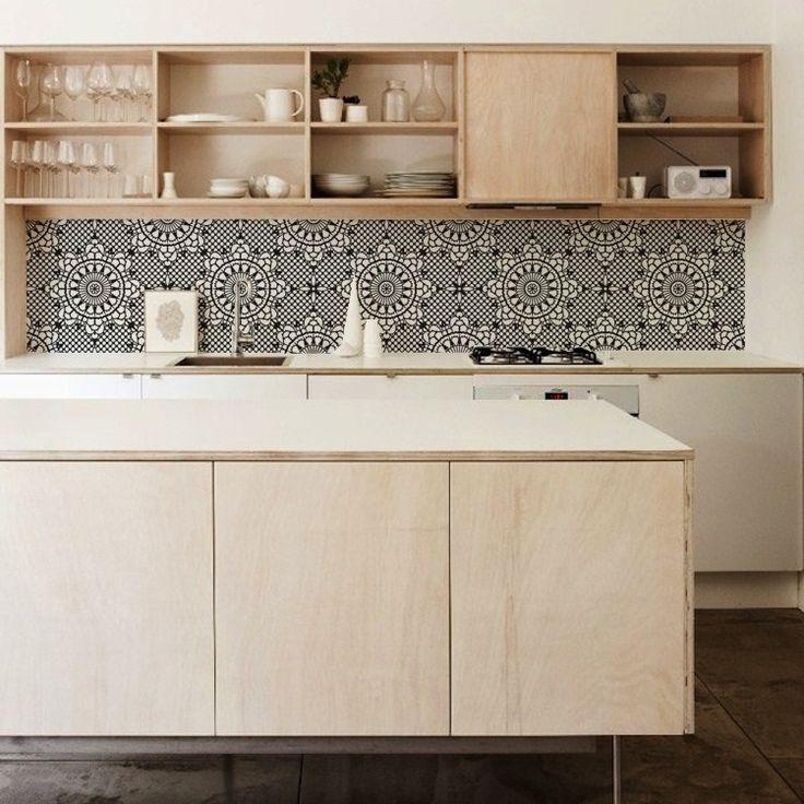 Behang voor je keuken achterwand. De gehele collectie is te zien op http://www.interieurinspiratie.nl/product-categorie/keuken/