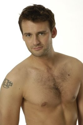 callum blue shirtless