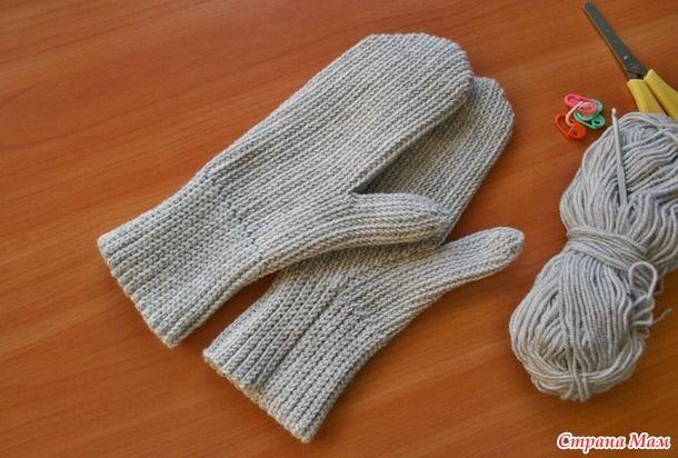 """Вяжем крючком рукавички/варежки так, чтобы они выглядели """"как спицами"""".  Присоединяйтесь, пробуйте новые узоры, осваивайте интересную технику вязания."""