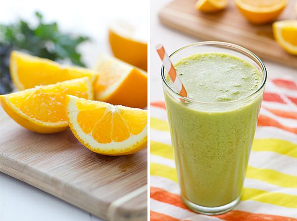 sinaasappel-spinazie-smoothie